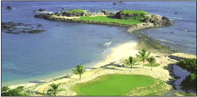 Mexico Golf Courses - Nicklaus 19th hole